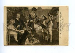 167945 Parc de Laeken Royal Family Belgium Albert I COLLIE old