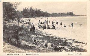 Bathing Beach Nassau in the Bahamas Unused