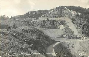 RPPC of The Shelves Broadmoor Chyenne Mountain Highway Colorado CO
