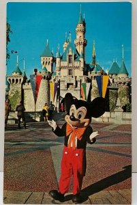Ot All Started with a Mouse - MICKEY MOUSE Walt Disney Productions Postcard D1