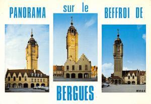 France Panorama sur le Beffroi de Bergues (Nord)