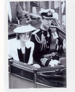 mm96 - Princess Diana & Charles - Royalty photo 6x4