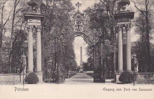 Eingang Zum Park Von Sanssouci, Potsdam (Brandenburg), Germany, 1900-1910s