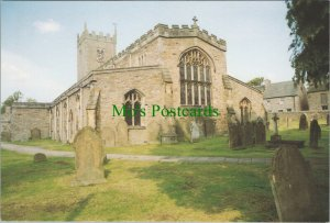 Yorkshire Postcard - St Oswald's Church, Askrigg      RR10380