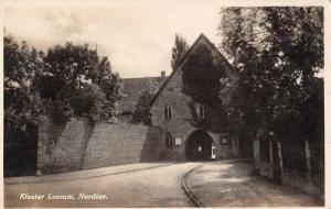 Loccum Germany Loccum Monastery City Gate Real Photo Antique PC (J34521)