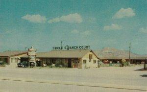 TUCUMCARI , New Mexico , 1950-60s ; Circle S Ranch Court ; RT 66/ Route 66