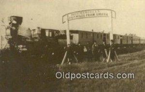 Reproduced Image, The Directors of The union Pacific Railroad Trains, Railroa...