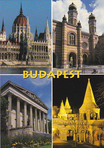 Hungary Budapest Multi Views