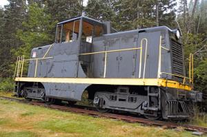New Postcard GE General Electric 44-Ton Switcher, Diesel Locomotive Train 83F