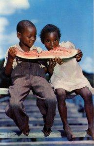 Watermelon Time - Black Children