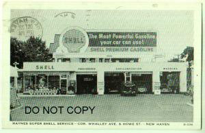 Haynes Super Shell Service / Gas Station New Haven Conn