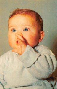 Rehoboth Beach Delaware Greetings Baby Portrait Vintage Postcard AA39896