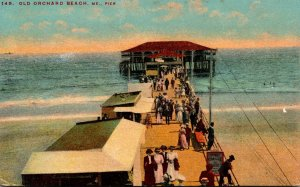 Maine Old Orchard Beach The Pier