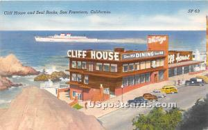 Cliff House, Seal Rocks