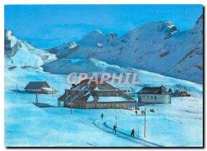 Postcard Modern Berghaus Tannalp Melchsee Frutt