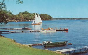 Sailing Water Sport , RIVIERE DU LOUP , Quebec , Canada , 50-60s