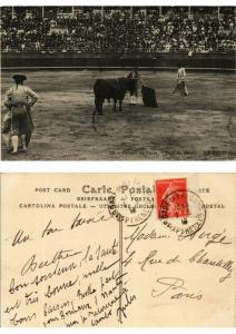 CPA Bullfighting - Corrida de Toros - Paso de Muleta (776040)