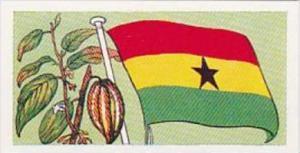 Amaran Tea Trade Card Flags &  Emblems No 14 Ghana