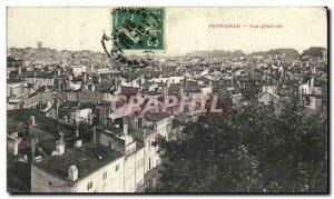Postcard Old Perpignan Vue Generale