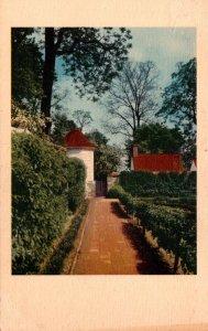 Virginia Mount Vernon Home Of Washington View In The Kitchen Garden