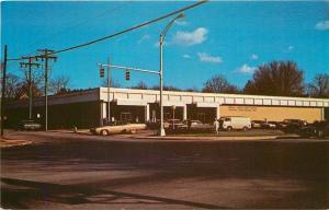 Anderson South Carolina~US Post Office~1960-70s Cars~Postcard