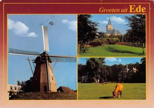 BT1214 groeten uit ede windmolen windmill mill netherlands