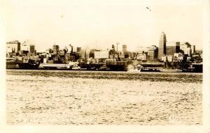 WA - Seattle. Waterfront View      *RPPC