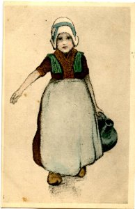 Dutch Girl - Carrying Jug