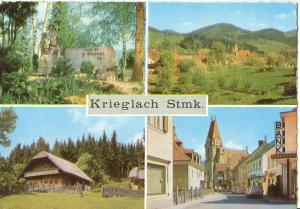 Austria, Krieglach Stmk, used Postcard