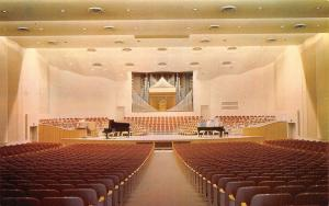 Rock Island IL Augustana College~Pipe Organ in Choir & Orchestra Hall c1960