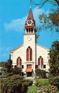Sandwich MA~Cape Cod~1st Parish Pilgrim Meeting House~Now Yesteryear Museum~1965