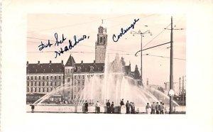Fontein Hofplein Rotterdam Holland 1956