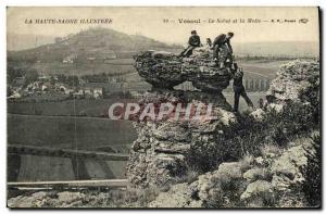 Old Postcard Vesoul Le Sabot and Motte