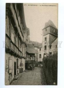 173625 FRANCE QUIMPERLE La rue St.Sebastien Vintage postcard