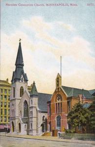 Minnesota Minneapolis The Maculate Conception Church