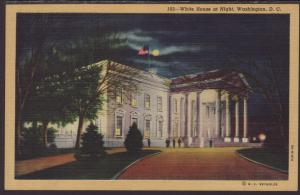White House at Night,Washington,DC