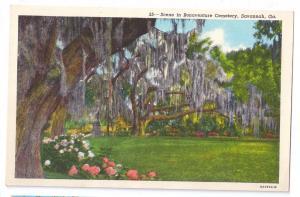Bonaventure Cemetery Savannah Georgia GA