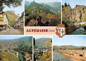 Altenahr Ahr, River Bridge Bruecke Campingplatz Tunnels Cross Panoramic view