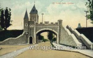 Quebec Canada, du Canada St Louis Gate  St Louis Gate