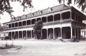 Manning Motel, Keosauqua, Iowa RP 1954