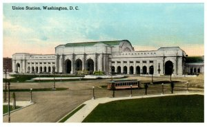 1910's Union Station Washington DC PC2018