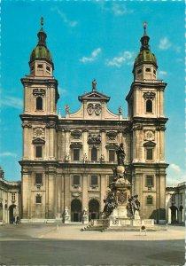 Postcard Austria Dom in Salzburg