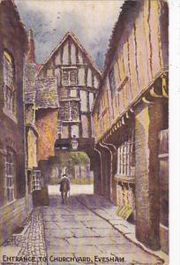 England Evesham Entrance To Churchyard