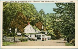 PA - Philadelphia, Fairmount Park, Valley Green Inn on Wissahicken Drive