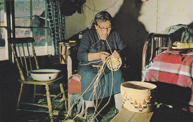 Indian Craft , Matilda Jim age 99 , B.C., Canada , 1940s-60s