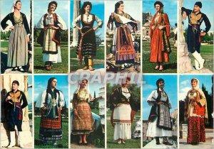 Postcard Modern Greece Greeks Costumes
