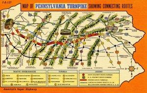 PA - Pennsylvania Turnpike Map