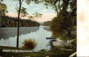 New Hampshire Hillsboro Bridge Contoocook River 1915