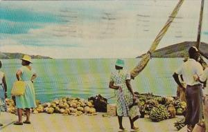 St Thomas Water Front Scene 1965
