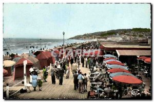 Old Postcard Deauville Boards